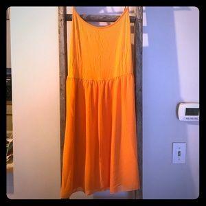 Kensington Orange Spaghetti Dress